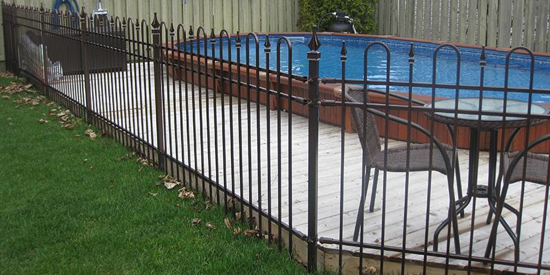 Cl tures lcm nous installons des cl tures dans les for Cloture de piscine montreal